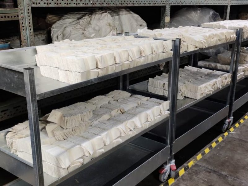 produzione guanti da lavoro - Kolkata - India